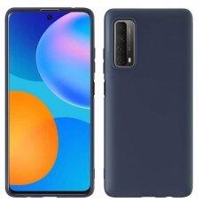 Huawei P Smart 2021 dėklas FOSCA CASE silikonas tamsiai mėlynas
