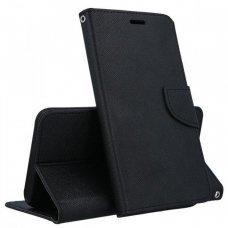 iphone 11 atverčiamas dėklas smart fancy pu oda juodas