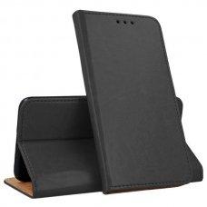 huawei p smart z atverčiamas dėklas Smart Pro odinis juodas