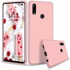 Huawei P smart z dėklas Liquid Silicone rožinis