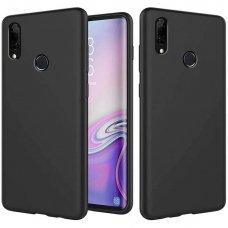 Huawei P smart z dėklas Liquid Silicone juodas