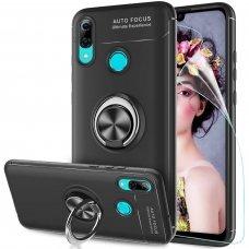 Huawei P smart z dėklas RING silikonas juodas