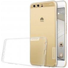 Huawei P10 dėklas Nillkin Nature permatomas 0,6 mm TPU