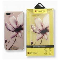 """Huawei P10 dėklas Vennus """"Flower 6"""" silkonas"""