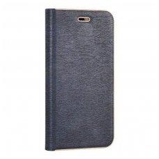 Huawei P10 Lite atverčiamas dėklas Vennus Book PU oda mėlynas