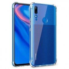Huawei P smart z dėklas ANTISHOCK Skaidrus 0,5mm SILIKONINIS