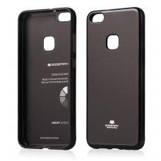 Huawei P10 Lite dėklas nugarėlė MERCURY JELLY silikonas juodas