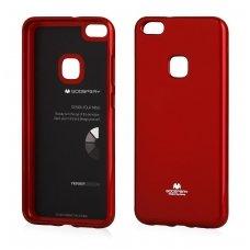 Huawei P10 Lite dėklas nugarėlė MERCURY JELLY silikonas raudonas