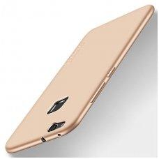 Huawei P10 lite dėklas X-LEVEL GUARDIAN silikonas aukso spalvos