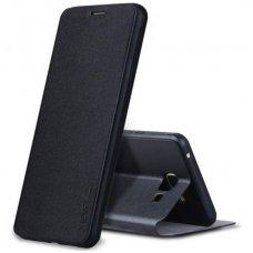 Huawei P10 Lite FIBER atverčiamas dėklas PIPILU/X-LEVEL oda juodas