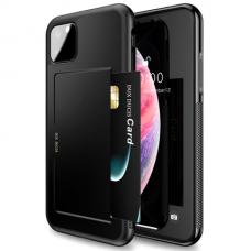 iphone 11 pro dėklas DUX DUCIS PoCard  juodas