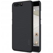 Huawei P10 PLUS dėklas Nillkin frosted PC plastikas juodas