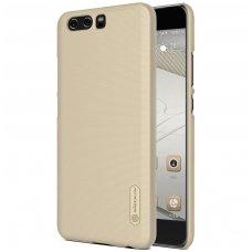 Huawei P10 PLUS dėklas Nillkin frosted PC plastikas smėlinis