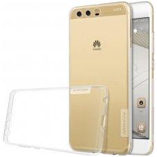 Huawei P10 PLUS dėklas Nillkin Nature permatomas 0,6 mm TPU