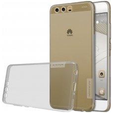 Huawei P10 PLUS dėklas Nillkin Nature permatomas pilkas 0,6 mm TPU