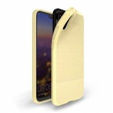 Huawei P20 dėklas dux ducis MOJO silikoninis aukso spalvos