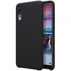 Huawei P20 dėklas Nillkin Flex PURE minkštas silikonas juodas