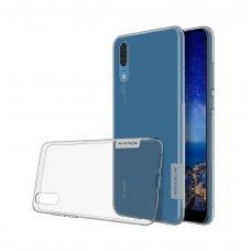 Huawei P20 dėklas Nillkin Nature pilkas 0,6 mm TPU