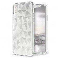Huawei P20 dėklas TPU Diamond iškiliu paviršiumi permatomas