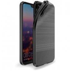 Huawei P20 dėklas dux ducis MOJO silikoninis Juodas