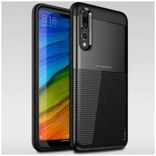 """Huawei P20 Pro dėklas Ipaky """"New Carbon"""" TPU Juodas"""