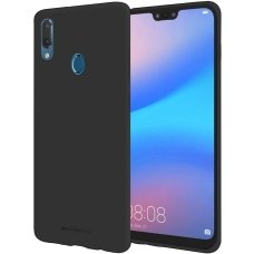 Huawei Y7 2019 / y7 prime 2019 dėklas Mercury Jelly case silikonas juodas