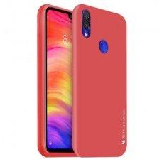 """xiaomi redmi note 7 dėklas """"Soft Jelly Case"""" silikonas raudonas"""