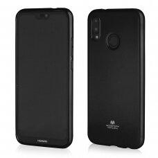 Akcija! Huawei P20 Lite dėklas Mercury Jelly case silikonas juodas