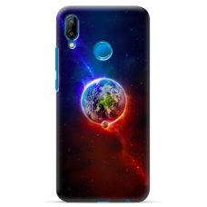 "Huawei P Smart 2019 TPU dėklas unikaliu dizainu 1.0 mm ""u-case Airskin Nature 4 design"""