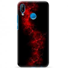 """Huawei P20 Lite TPU dėklas unikaliu dizainu 1.0 mm """"u-case Airskin Space 3 design"""""""