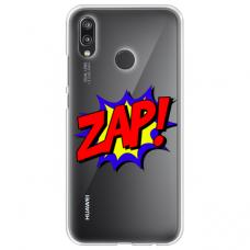 """Huawei P Smart 2019 TPU dėklas unikaliu dizainu 1.0 mm """"u-case Airskin ZAP design"""""""