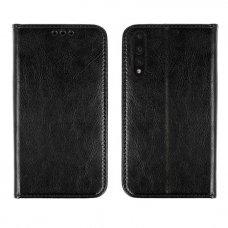 AKCIJA! Huawei P20 Pro Atverčiamas dėklas Book Special Tikra Oda Juodas
