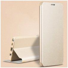 Huawei P20 pro atverčiamas dėklas X-Level FIB Color smėlinis