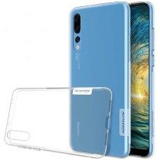 Huawei P20 pro dėklas Nillkin Nature TPU permatomas