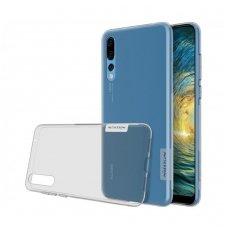 Huawei P20 pro dėklas Nillkin Nature TPU permatomas pilkas