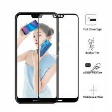 Huawei P20 pro H Pro 5D H9+ lenktas apsauginis stiklas JUODAIS KRAŠTAIS