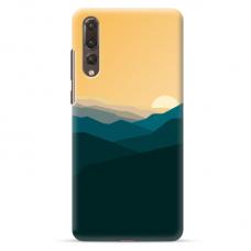 "Huawei P20 Pro TPU dėklas unikaliu dizainu 1.0 mm ""u-case Airskin Mountains 2 design"""