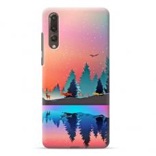 "Huawei P20 Pro TPU dėklas unikaliu dizainu 1.0 mm ""u-case Airskin Nature 5 design"""