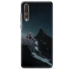 "Huawei P20 Pro TPU dėklas unikaliu dizainu 1.0 mm ""u-case Airskin Mountains 1 design"""