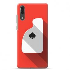 "Huawei P20 TPU dėklas unikaliu dizainu 1.0 mm ""u-case Airskin Ace design"""