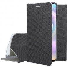 Akcija ! Huawei P30 atverčiamas dėklas Smart Fusion juodas