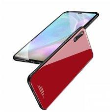 Huawei p30 pro dėklas GLASS CASE raudonas