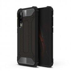 Akcija! Huawei P30 pro dėklas Hybrid Armor TPU+PC plastikas juodas