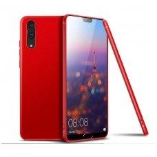 Huawei p30 pro dėklas MERCURY JELLY SOFT silikoninis raudonas