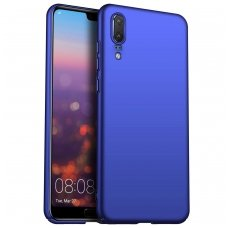 Huawei P30 dėklas X-LEVEL GUARDIAN 0,6 mm silikonas mėlynas