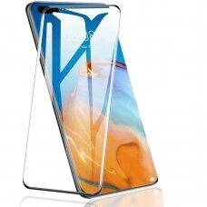Huawei P40 ekrano Apsauginis grūdintas stikliukas 5D CF Full juodais kraštais