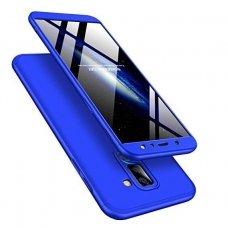 Samsung A6 Plus 2018 HURTEL dėklas dvipusis 360 plastikas mėlynas