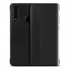 akcija! Huawei P30 lite atverčiamas dėklas Sleep case juodas