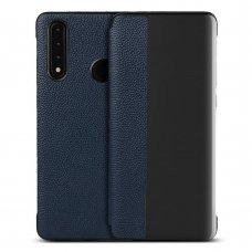 akcija! Huawei P30 lite atverčiamas dėklas Sleep case mėlynas