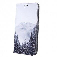 Akcija! Huawei P30 Lite atverčiamas dėklas smart trendy Kalnai